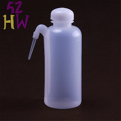 500ml Plastic Washing Bottle With Side Bent Tube,Chemistry Labware