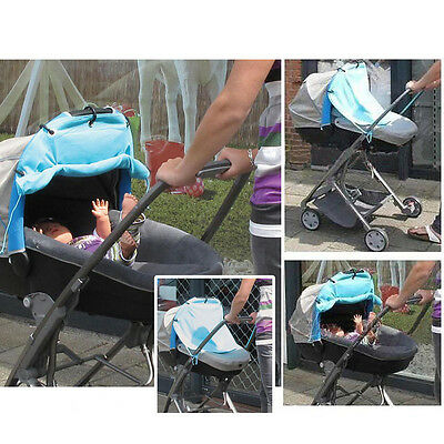 Baby Infant Universal Stroller Pram Sun Shade Sun Protection Cover Wind Shield