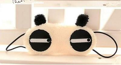 Precioso ANTIFAZ PARA DORMIR Máscara PANDA SOSPECHOSO Sleeping eye mask  A1635