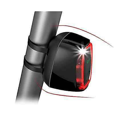 X6 Smart Bike Tail LED Flashing Light USB Rechargealbe Quick Release with Motion
