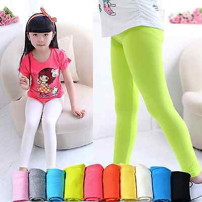 Baby Girls  Toddler Sweet Candy Colours Summer Pants Leggings Age from 1-6 Yrs