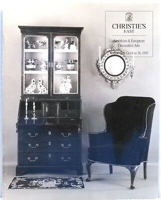 1995 Christies AMERICAN & EUROPEAN DECORATIVE ARTS Antiques Furniture Folk Art