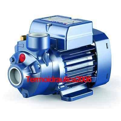 Electric Water Pump with peripheral impeller PKm 60 0,5Hp 240V Pedrollo