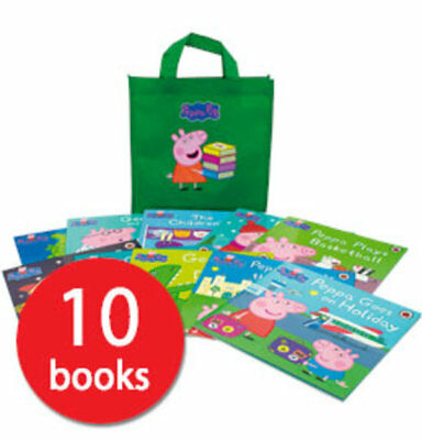 Peppa Pig Collection in a Bag - 10 Books