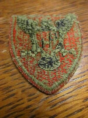 ORIGINAL GREENBACK WW2 86th INFANTRY DIVISION PATCH WORN!