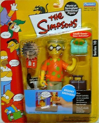 Playmates The Simpsons World of Springfield WoS Series 10 Resort Smithers Figur