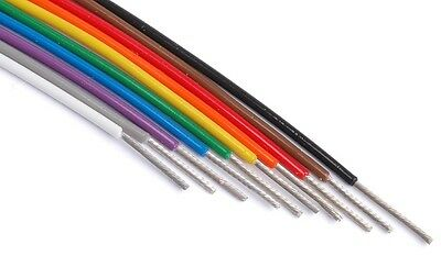 M22759/11-20 wire silver plated conductors 10 colors 25ft each 200°C