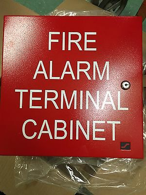 Space Age Ssu00645 Tc2 32 Point Fire Alarm Terminal Strip Cabinet [New]