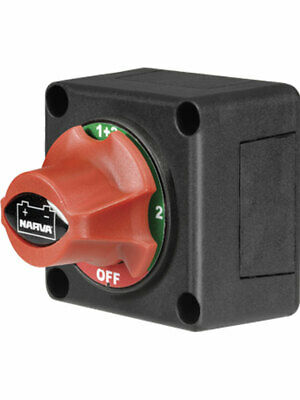 Narva Battery Master Switch, Rotary Style With 4 Positions - (61084Bl)