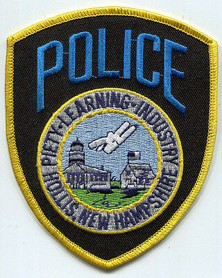 Hollis New Hampshire Police Patch