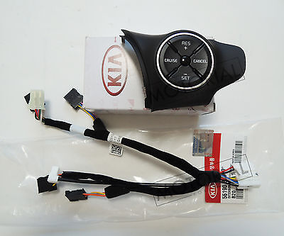 OEM Auto Cruise Control Switch + Ext Wire 2pcs set Heated For KIA SOUL 2014-2016