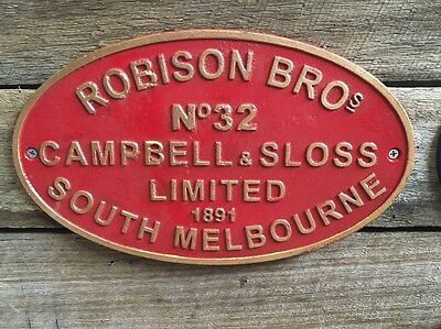 Robinson Sth Melb Repro Sign