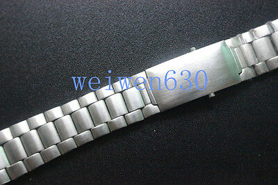 22mm Solid Steel Bracelet Watch Band Strap+Clasp FOR Omega 007Speedmaster series