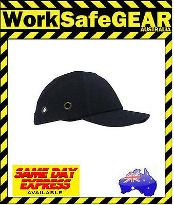 Black or Navy Lightweight Baseball Bump Safety Head Protection Cap Hat