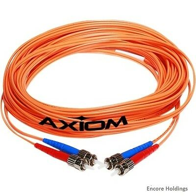 LCLCMD6O-3M-AX Axiom LC/LC Multimode Duplex OM1 62.5/125 Fiber Optic Cable 3m -