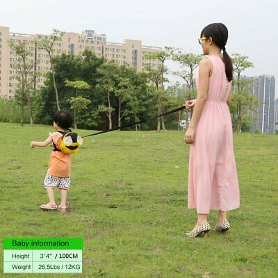 Baby Safety Harness Walking belt Backpack Style Belt Leash Helper Child strap AU