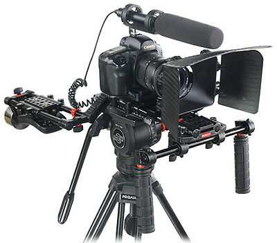 FILMCITY FC-10W Shoulder Handheld Camera Rig with Counter Weight