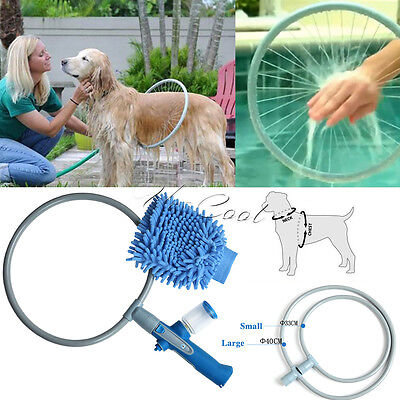 360 Degree Lovely Dog Washer Bath Shower Woof Washer Kit Pet Gently Clean S/L