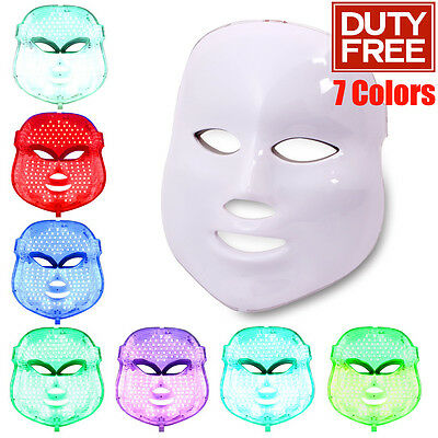 Photon 7 Color Facial Mask Photodynamic Therapy PDT 150leds Anti-aging Firming