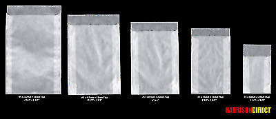 Lindner Glassine Envelopes - Various Sizes & Quantities - For Stamps Seeds Craft