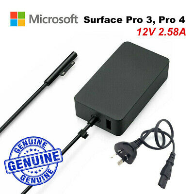 Genuine Original 65W Microsoft Surface Pro 3 4 Charger AC Adapter Charger 1706