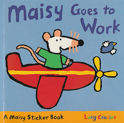 Maisy Goes to Work Sticker Book by Lucy Cousins BRAND NEW BOOK (Paperback, 2002)