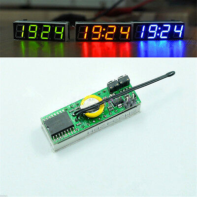 3 in 1 LED DS3231SN Digital Clock Temperature Voltage Module DIY Electronic Red