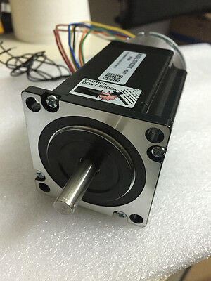 Leadshine Stepper Motor NEMA23 2.2Nm 314oz-in 2ph 4A D=8mm Brake Laser Machine
