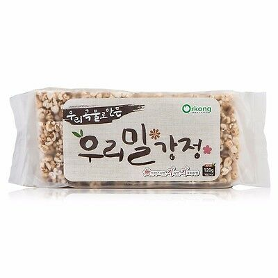 Authentic Puffed Rice Cracker 120g Korean Food Well-Being Desserts Gangjeong New