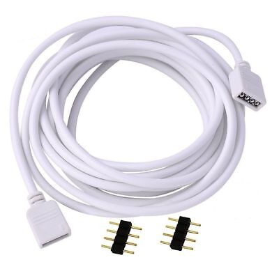 LED Extension Wire Cable Cord For RGB Wire 5050 3528 Led Strip Connector 4Pin