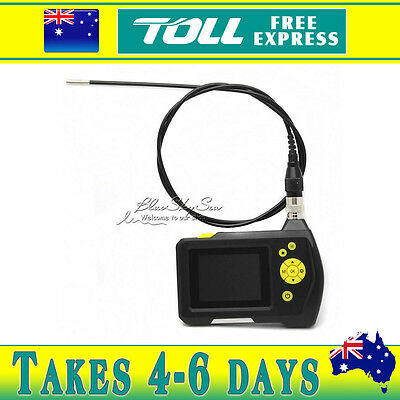 """3.9mm 2.7"""" Color LCD NTS100 Endoscope Borescope Snake Inspection Tube Camera 1M"""