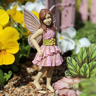 "3.25"" My Fairy Gardens Mini Figure Pick - Gabby - Resin Miniature Figurine Decor"