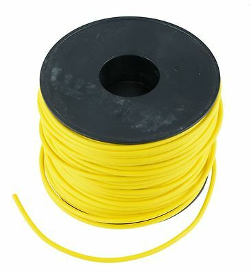 Yellow 1mm PVC Stranded Automotive Wire Cable 32/0.2mm 50M Reel
