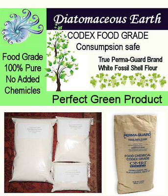 2 lb Perma-Guard Food Grade Diatomaceous Earth CODEX No Additives Pure