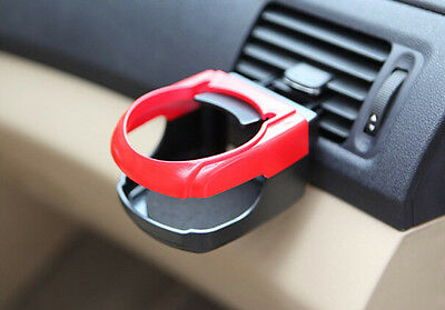 1pc Car Ven Drink Can Coke Wine Glass Bottle Cup Holder Air Vent Mount Tray
