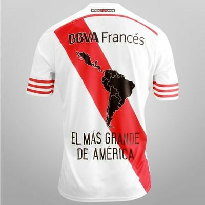 2015 New River Plate Libertadores Home Shirt Argentina Jersey Limited Edition