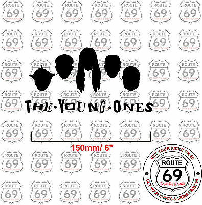 The Young Ones Sticker Decal Retro Vw Bay Split Camper Surf Bus Beetle