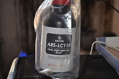 D425 3D Printer ABS-Like Resin for Kevvox/FormLabs etc. ABS-LC110 - 0.5KG *NEW*