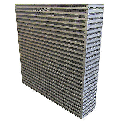 New Aluminum Intercooler Core 12 X 12 X 4 Inch Plate And Fin Style New