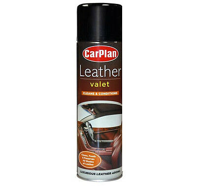 CarPlan Leather Valet; Cleaner and Conditioner 400ml