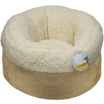 Me & My Super Soft Round Donut Cat Bed Kitten/dog/puppy Warm/snug/cosy Cushion