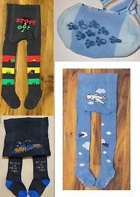 Baby Boy Tights Anti Slip ABS Socks Cotton Leg Warmers 9-12-18-24-36 Mth 2-3-4 Y