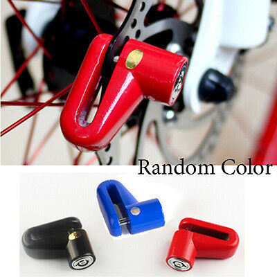 Heavy Duty Motorbike Motorcycle Bike Scooter Disc Lock Padlock + Security Keys