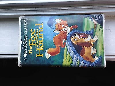 Fox and the Hound VHS Rare Black Diamond Classic Disney Edition