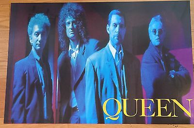 Queen Group Photo Poster 24 X 35