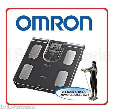 Omron HBF-514C Full Body Composition Sensing Monitor and Scale 7 Indicators