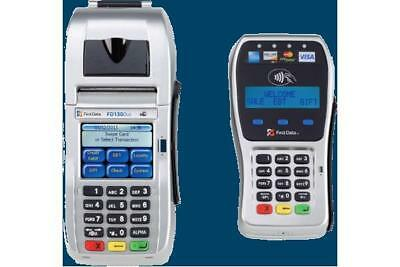 First Data FD130 DUO and FD-35 EMV/NFC PIN Pad Combo