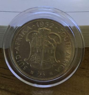 South Africa PROOF 1952 Silver Two Shilling Silver Florin