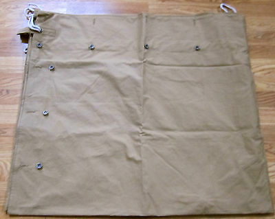 Wwi Us Army Infantry Shelter Half Tent-Od#9