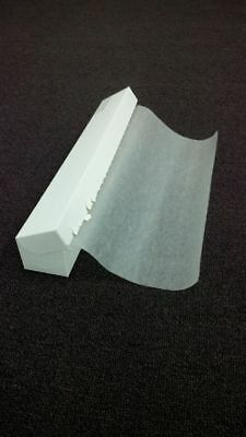 TopStyle Wax Food Paper on Roll in Dispenser Box 300mm x 23m
